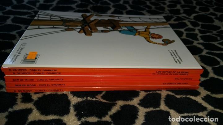 Cómics: CORI EL GRUMETE BOB DE MOOR colección completa Ed. JUVENTUD 5 tomos primera edición - Foto 3 - 152344442