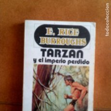 Cómics: NOVELA TARZAN Y EL IMPERIO PERDIDO 190 PAGINAS AÑO 1972. Lote 152441710