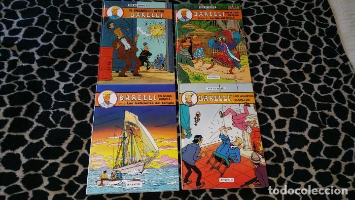 LOTE 4 COMICS BARELLI DE BOB DE MOOR N° 1 2 3 5 CASTELLANO (Tebeos y Comics - Juventud - Barelli)