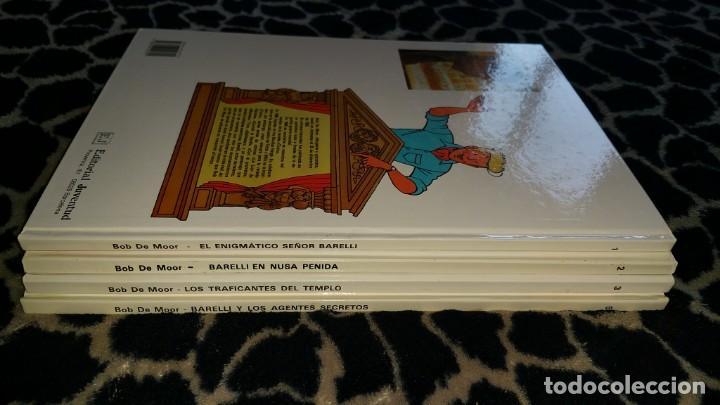 Cómics: Lote 4 comics BARELLI de BOB DE MOOR N° 1 2 3 5 castellano - Foto 3 - 152519046