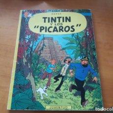 Cómics: TINTÍN Y LOS PÍCAROS. JUVENTUD. RÚSTICA. SEGUNDA EDICIÓN, 1980. VER FOTOS.. Lote 152631258
