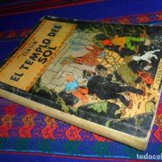Cómics: TINTIN EL TEMPLO DEL SOL, 1ª PRIMERA EDICIÓN. JUVENTUD 1961. DIFÍCIL.. Lote 152874458