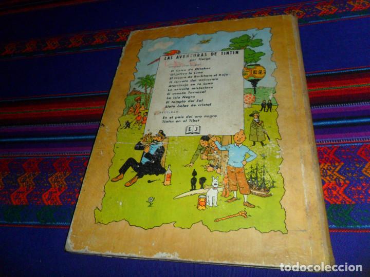 Cómics: TINTIN EL TEMPLO DEL SOL, 1ª PRIMERA EDICIÓN. JUVENTUD 1961. DIFÍCIL. - Foto 4 - 152874458