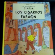 Cómics: LOS CIGARROS DEL FARAÓN LAS AVENTURAS DE TINTÍN HERGÉ EDITORIAL JUVENTUD AÑO 1999. Lote 153358558