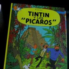 Cómics: TINTÍN Y LOS PÍCAROS LAS AVENTURAS DE TINTÍN HERGÉ EDITORIAL JUVENTUD AÑO 1985. Lote 153362098