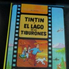 Cómics: TINTÍN Y EL LAGO DE LOS TIBURONES LAS AVENTURAS DE TINTÍN HERGÉ EDITORIAL JUVENTUD AÑO 1995. Lote 153362830