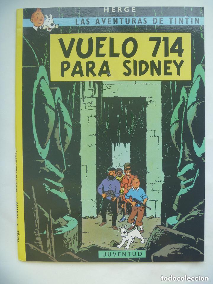 LAS AVENTURAS DE TINTIN : VUELO 714 PARA SIDNEY . HERGÉ ... DE JUVENTD. (Tebeos y Comics - Juventud - Tintín)