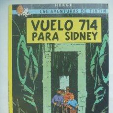 Cómics: LAS AVENTURAS DE TINTIN : VUELO 714 PARA SIDNEY . HERGÉ ... DE JUVENTD.. Lote 153534014
