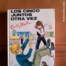 Cómics: NOVELA DE ENID BLYTON VOL ,42 AÑO 1972 LOS CINCO JUNTOS OTRA VEZ. Lote 153626066