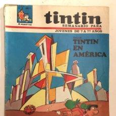Cómics: SEMANARIO TINTIN Nº 20 AÑO II -1967 . HERGÉ. UDERZO. GOSCINY. UMPAH-PAH. RAY RINGO . Lote 153626690