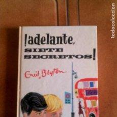 Cómics: NOVELA DE ENID BLYTON N,5 ,ADELANTE SIETE PECADORES AÑO ,1973. Lote 153626814