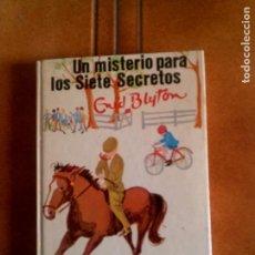 Cómics: NOVELA DE ENID BLYTON N,4 UN MISTERIO PARA LOS SIETE SECRETOS AÑO ,1976. Lote 153626938