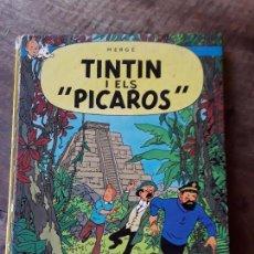Cómics: TINTIN I ELS PICAROS HERGÉ. Lote 153821226