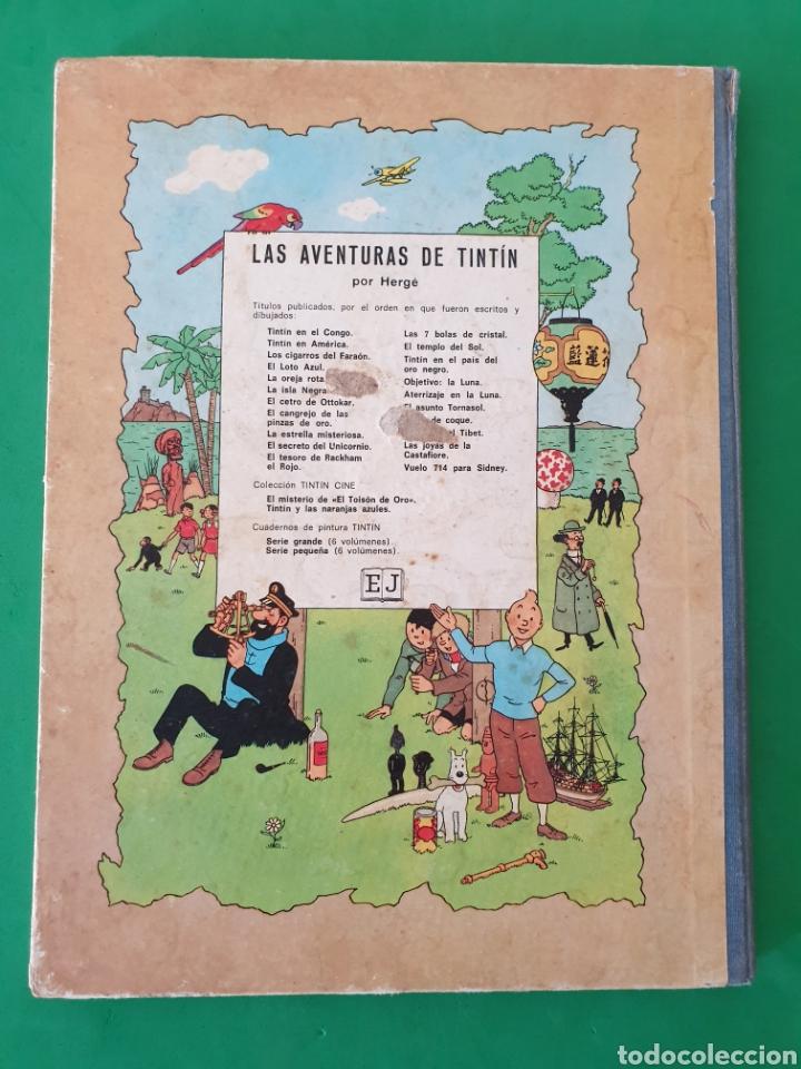 Cómics: Tintin en el Congo. Hergé. Juventud. Segunda edición 1970 - Foto 2 - 153833266