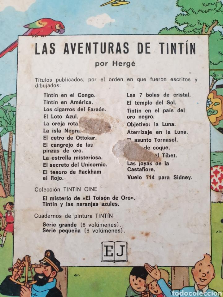Cómics: Tintin en el Congo. Hergé. Juventud. Segunda edición 1970 - Foto 3 - 153833266