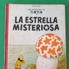 Cómics: TINTIN. LA ESTRELLA MISTERIOSA. EDITORIAL JUVENTUD. SEGUNDA EDICIÓN. 1964. Lote 153834384