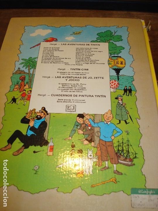 Cómics: EL ASUNTO TORNASOL. LAS AVENTURAS DE TINTIN. HERGE. EDIT. JUVENTUD. 6ª EDICION 1979 - Foto 2 - 17862749