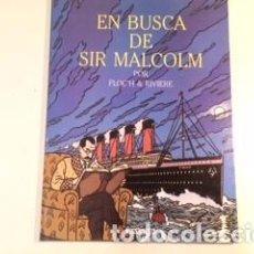 Comics: FLOC'H & RIVIERE, EN BUSCA DE SIR MALCOM, CITA EN SEVENOAKS. Lote 154020742