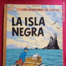 Cómics: TINTÍN. JUVENTUD. LA ISLA NEGRA. HERGÉ, 3ª EDICIÓN 1969. . Lote 154282810