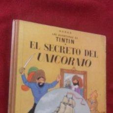 Cómics: TINTIN - EL SECRETO DEL UNICORNIO - 4ª EDICION - HERGE - CARTONE . Lote 154480246