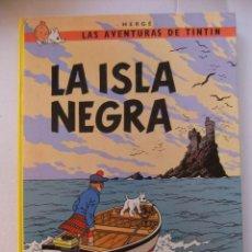 Cómics: LAS AVENTURAS DE TINTIN LA ISLA NEGRA JUBENTUD. Lote 154712118