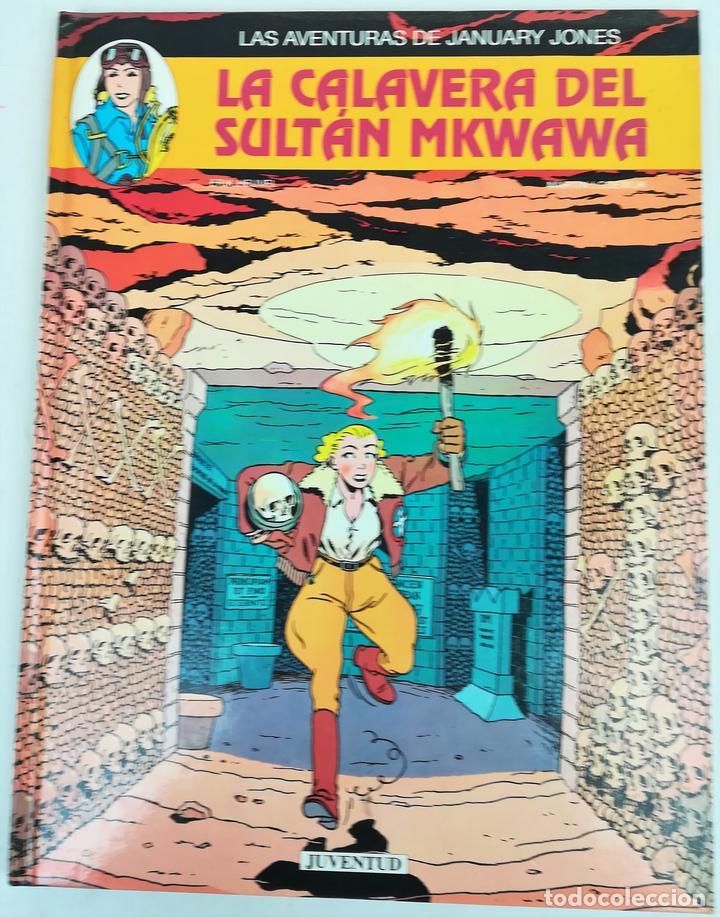 AVENTURAS DE JANUARY JONES.LA CALAVERA DEL SULTÁN MKWAWA.HEUVEL.LODEWIJK.EDIT.JUVENTUD.BARCELONA1994 (Tebeos y Comics - Juventud - Otros)