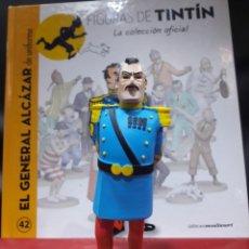 Cómics: FIGURA TINTÍN RESINA MOULINSART EL GENERAL ALCÁZAR. Lote 155161081