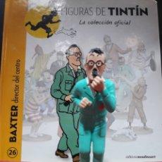 Cómics: FIGURA TINTÍN RESINA MOULINSART BAXTER DIRECTOR. Lote 155282557