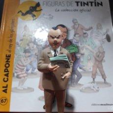 Cómics: FIGURA TINTÍN RESINA MOULINSART EL AL CAPONE. Lote 155287357
