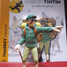 Cómics: FIGURA TINTÍN RESINA MOULINSART THARKEY EL SHERPA FIEL. Lote 155290156