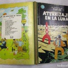Comics - TINTIN - ATERRIZAJE EN LA LUNA - HERGE - EDI JUVENTUD 1965 - BUENA CONSERVACION + INFO - 155294350