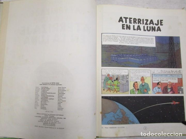 Cómics: TINTIN - ATERRIZAJE EN LA LUNA - HERGE - EDI JUVENTUD 1965 - BUENA CONSERVACION + INFO - Foto 2 - 155294350
