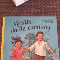 Cómics: MARTITA SE VA DE CAMPING 1962. Lote 202393965