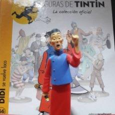 Cómics: FIGURA TINTÍN RESINA MOULINSART DIDI SE VUELVE LOCO. Lote 155315044