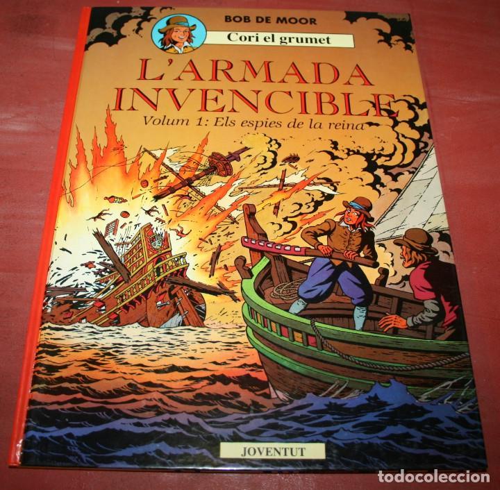 L'ARMADA INVENCIBLE VOLUM 1 - CORI EL GRUMET - BOB DE MOOR - ED. JOVENTUT - 1991 - EN CATALÁN (Tebeos y Comics - Juventud - Cori el Grumete)