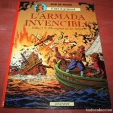 Cómics: L'ARMADA INVENCIBLE VOLUM 1 - CORI EL GRUMET - BOB DE MOOR - ED. JOVENTUT - 1991 - EN CATALÁN. Lote 155323250