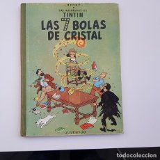 Cómics: TINTÍN, LAS 7 BOLAS DE CRISTAL,ED. JUVENTUD,2ª SEGUNDA EDICIÓN,AÑO 1967,BUEN ESTADO GENERAL. Lote 155388894