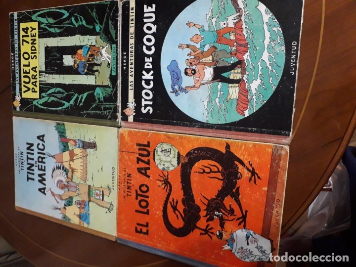 Cómics: TINTIN COLECCION COMPLETA PRIMERA EDICION (25 EJEMPLARES) CUIDADO CON EL MARCAPASOS... - Foto 5 - 36184230