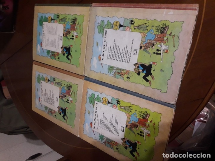 Cómics: TINTIN COLECCION COMPLETA PRIMERA EDICION (25 EJEMPLARES) CUIDADO CON EL MARCAPASOS... - Foto 6 - 36184230