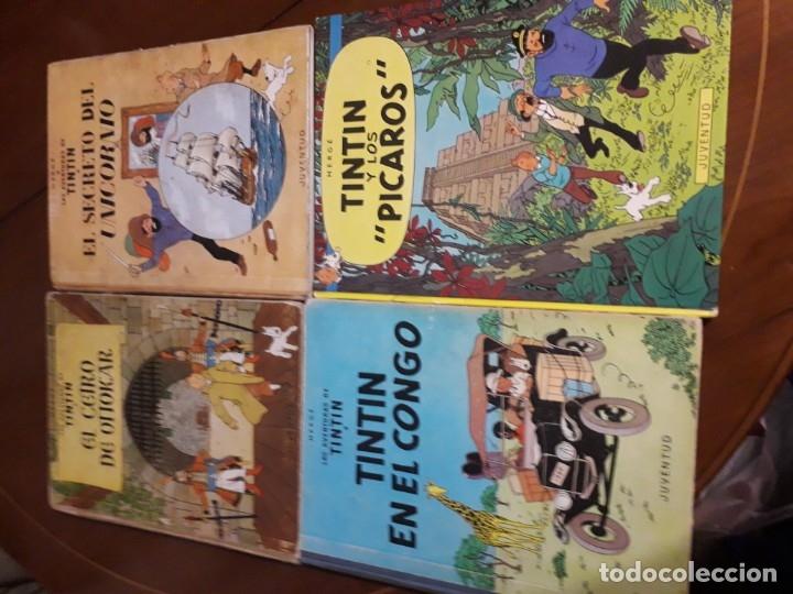 Cómics: TINTIN COLECCION COMPLETA PRIMERA EDICION (25 EJEMPLARES) CUIDADO CON EL MARCAPASOS... - Foto 10 - 36184230