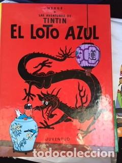 TINTIN - EL LOTO AZUL (Tebeos y Comics - Juventud - Tintín)