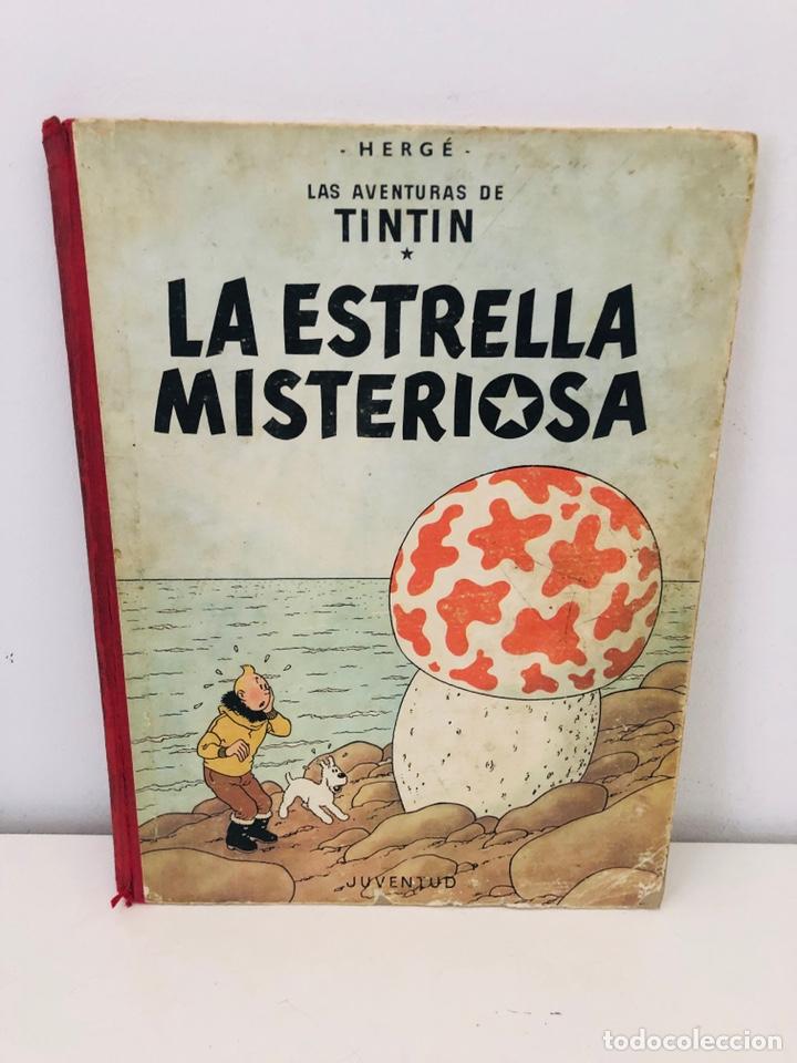 TINTÍN ESTRELLA MISTERIOSA LOMO TELA (Tebeos y Comics - Juventud - Tintín)