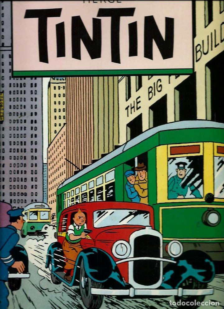 Cómics: HERGE - ALBUM POSTER TINTIN - NUMEROS 1, 2 Y 3, COLECCION COMPLETA - ED. JUVENTUD 1987, 1ª EDICION - Foto 3 - 155588178