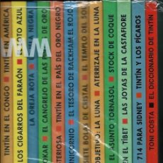 Comics : LAS AVENTURAS DE TINTIN - 12 ALBUMES DOBLES, ED. CIRCULO DE LECTORES 1993 - COLECCION COMPLETA, RARA. Lote 155590518