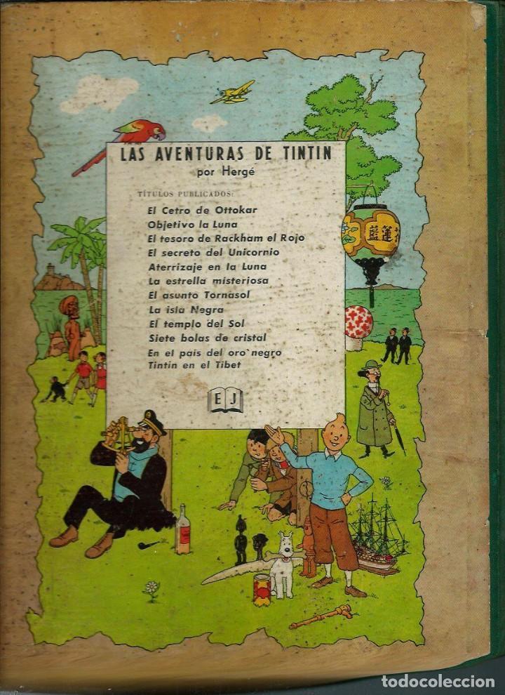 Cómics: HERGE - TINTIN EN EL TIBET - EDITORIAL JUVENTUD 1962 1ª PRIMERA EDICION - DIFICIL, VER DESCRIPCION - Foto 2 - 155624306