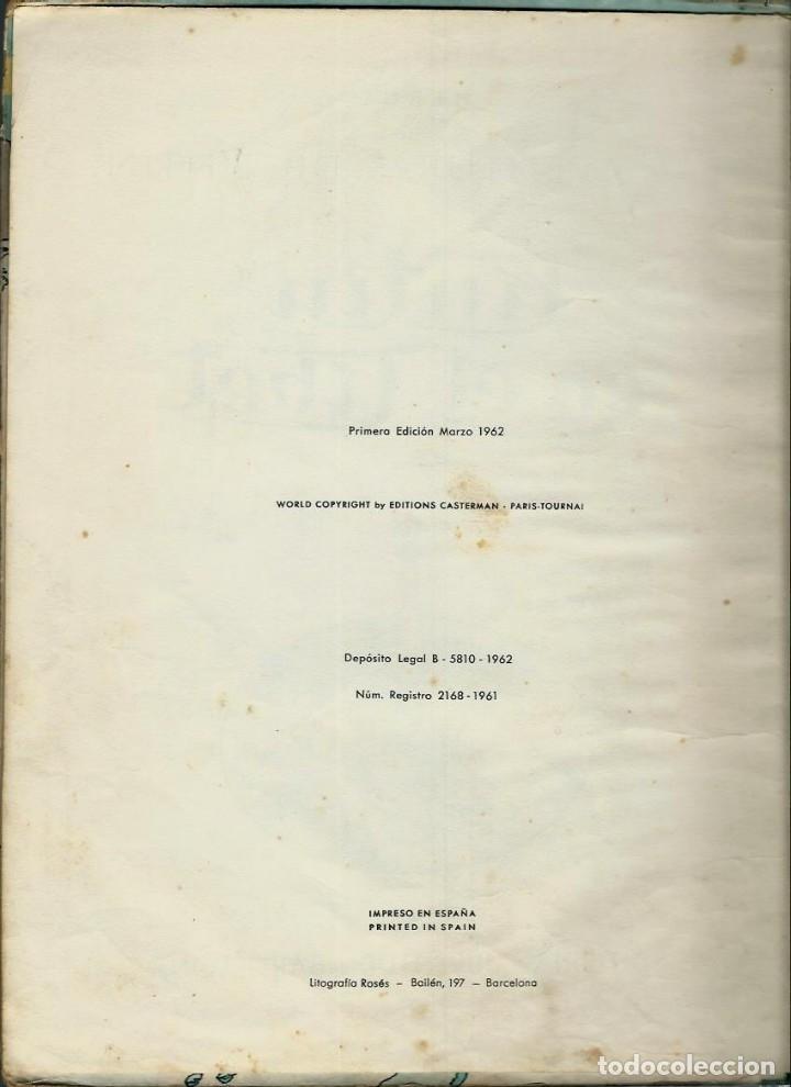 Cómics: HERGE - TINTIN EN EL TIBET - EDITORIAL JUVENTUD 1962 1ª PRIMERA EDICION - DIFICIL, VER DESCRIPCION - Foto 3 - 155624306