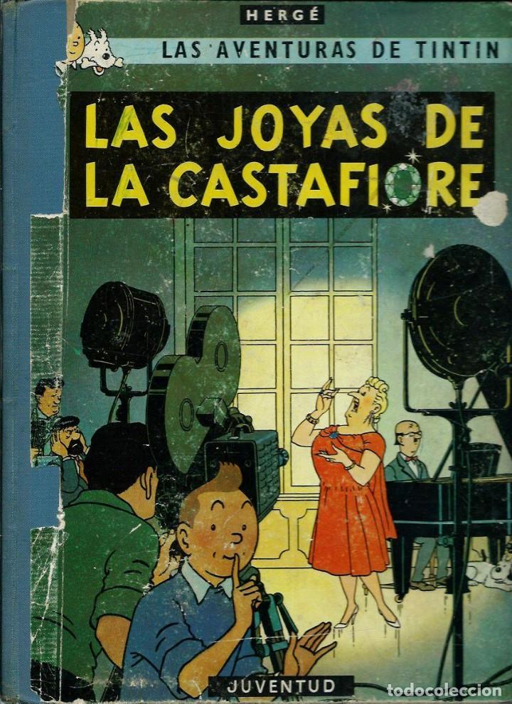 HERGE - TINTIN - LAS JOYAS DE LA CASTAFIORE - JUVENTUD 1964, 1ª PRIMERA EDICION - VER DESCRIPCION (Tebeos y Comics - Juventud - Tintín)