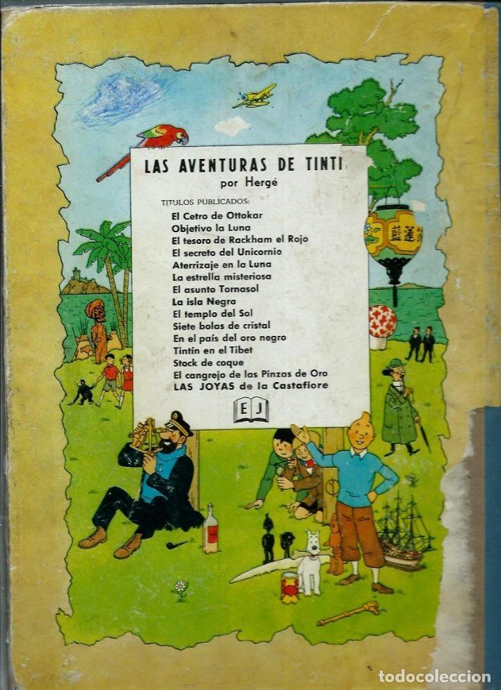 Cómics: HERGE - TINTIN - LAS JOYAS DE LA CASTAFIORE - JUVENTUD 1964, 1ª PRIMERA EDICION - VER DESCRIPCION - Foto 2 - 155625914