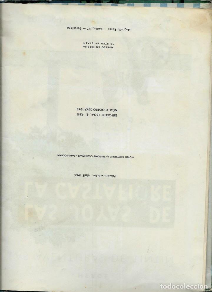 Cómics: HERGE - TINTIN - LAS JOYAS DE LA CASTAFIORE - JUVENTUD 1964, 1ª PRIMERA EDICION - VER DESCRIPCION - Foto 3 - 155625914