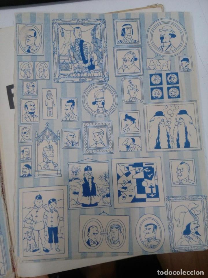 Cómics: HERGE - TINTIN - EL LOTO AZUL - ED. JUVENTUD 1965, 1ª PRIMERA EDICION - IMPRENTA ROSES, LOMO ROJO - Foto 5 - 155609538